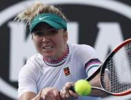 Sixth seed Svitolina fires into Aussie Open second round