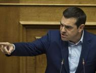 Greek parliament opens debate on Tsipras confidence vote
