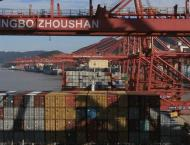 China's Ningbo Zhoushan port sees record throughput