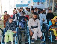 Pakistan Bait-ul-Mal (PBM) provides 73 wheel chairs in last five  ..