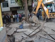 Encroachments removed from Warai Bazaar