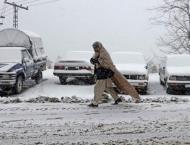 Snowfall dips mercury in Skardu, other northern areas
