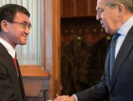 Russia and Japan 'far from partners': Lavrov