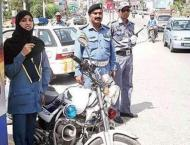 Police arranges traffic awareness campaign in Bahawalpur