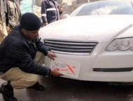 Crackdown against fancy, fake number plates in Sukkur launched