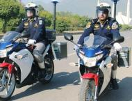 Islamabad Traffic Police starts action in sector G-9 for proper p ..