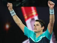 Wawrinka falls to Raonic at Open