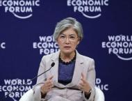 South Korean Foreign Minister Kang Kyung-wha to join Davos Forum