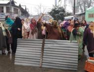 Relatives protest against illegal detention
