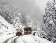 Severe cold follows snowfall in upper parts of GB