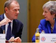 European Council President Says Discussed Next Steps on Brexit Wi ..