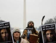 Indigenous people protest for their rights in Washington
