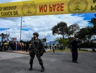 Colombia blames deadly Bogota car bombing on ELN rebels