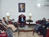 Sharp focus on development in AJK: Masood Khan
