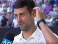 Djokovic's floodlight fury after wobble against Shapovalov