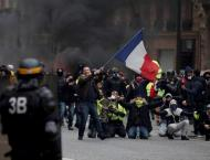 Yellow Vests Gather in Paris for 10th Weekend of Protests