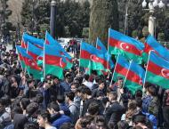 Azerbaijani Opposition Rallies Against Government at Authorized P ..