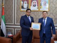 Kazakhstan's national archives honours UAE Ambassador