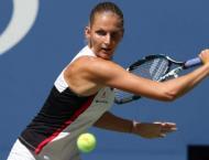 Czech seventh seed Pliskova powers into Open quarters
