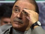 PTI approachs SC seeking Zardari's disqualification