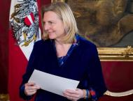 Austria's Kneissl Says Has Few Details on Warsaw Middle East Summ ..