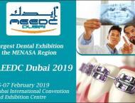 Region's biggest dental event 'AEEDC Dubai' starts in Febru ..