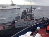 Two Ships Burning in Kerch Strait, One Sailor Dead - Russia's Mar ..