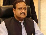 Punjab Chief Minister Sardar Usman Buzdar guides Commissioners, R ..