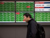 Tokyo stocks close lower on Brexit, US shutdown worries
