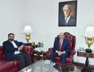 Masood Khan lauds efforts of Pak-Kashmir diaspora community