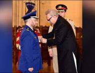 President confers Nishah-i-Imtiaz on Chief of General Staff of Sa ..