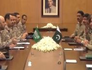 Saudi CGS acknowledges Pakistan Army's high standards of professi ..