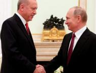 Putin Says Discussed Idlib at Moscow Talks With Erdogan