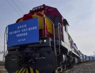 Xinjiang's Horgos sees record passage of freight trains