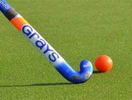 Trials for Hockey team selection at Astroturf hockey stadium Sarg ..