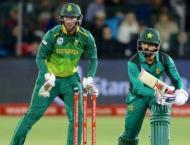 South Africa v Pakistan 3rd ODI scoreboard