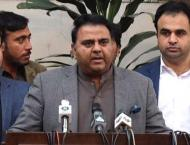 Chaudhry Fawad Hussain arrives in Dubai to attend inaugural cerem ..