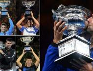 Triumphant Djokovic motivated by matching Federer's top 20
