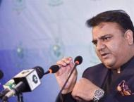 Federal Minister for Information and Broadcasting Chaudhry Fawad  ..