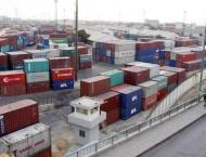 Shipping activity at Port Qasim 29 Jan 2019