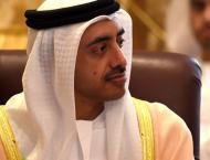 King of Jordan receives Abdullah bin Zayed