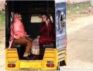 Marriyum Aurangzeb takes a rickshaw ride to meet Nawaz Sharif in  ..