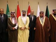 Abdullah bin Zayed participates in consultative meeting in Jordan