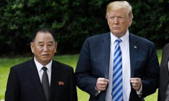 Trump Says Made Great Progress in Talks With North Korean Envoy