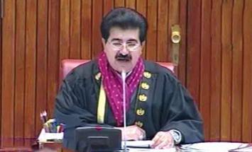 رئيس مجلس الشيوخ الباكستاني يعزي في ..