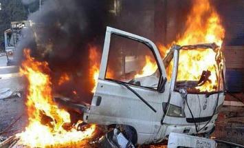 مقتل شخص وإصابة 4 آخرين بانفجار سيارة ..