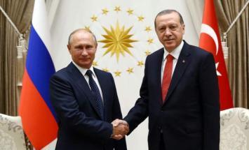 بوتين و اردوغان يبحثان في موسكو التسوية ..