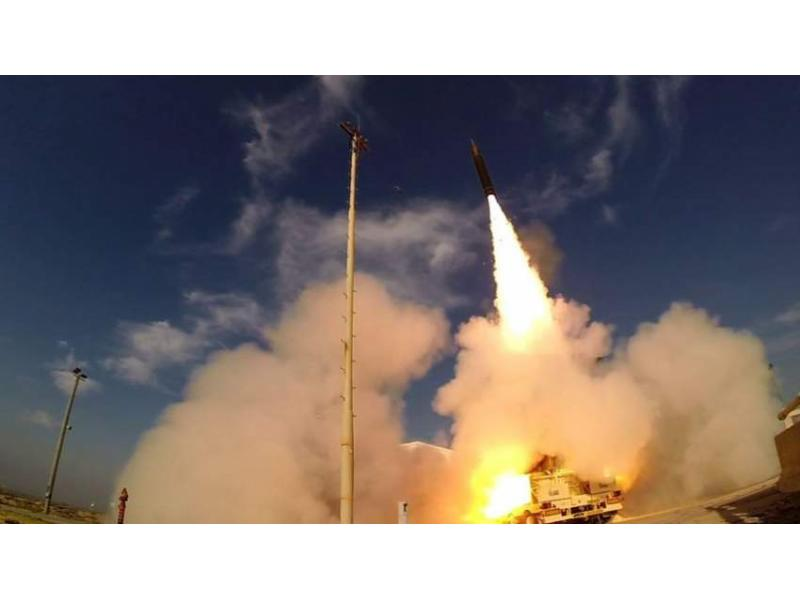 Israel Successfully Tests Anti-ballistic Missile System