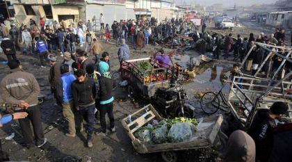 انفجار سيارة مفخخة يقتل ويصيب 13 عراقيا
