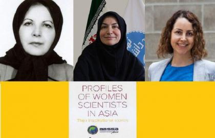 Three Iranian women placed among Asia's top 50 scientists